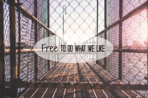 Free To Do What We Like
